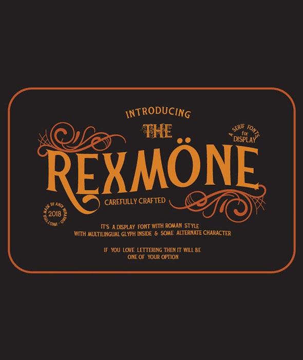 Rexmone - Miscellaneous Serif