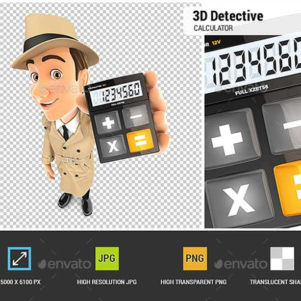 3D Detective Holding Calculator