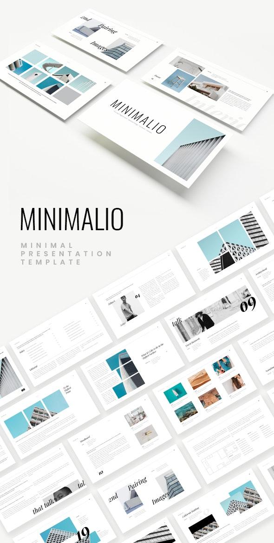 Minimalio Powerpoint Template - Creative PowerPoint Templates