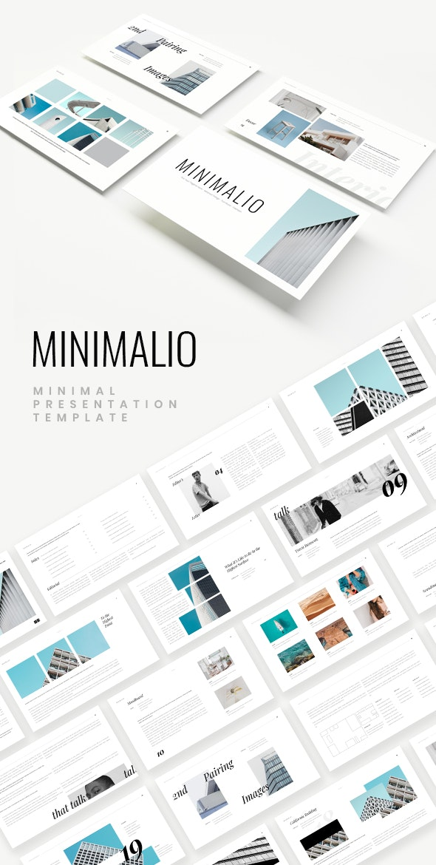 Minimalio Keynote Template - Creative PowerPoint Templates