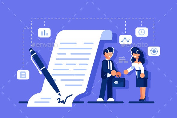 Successful Business Agreement - Concepts Business