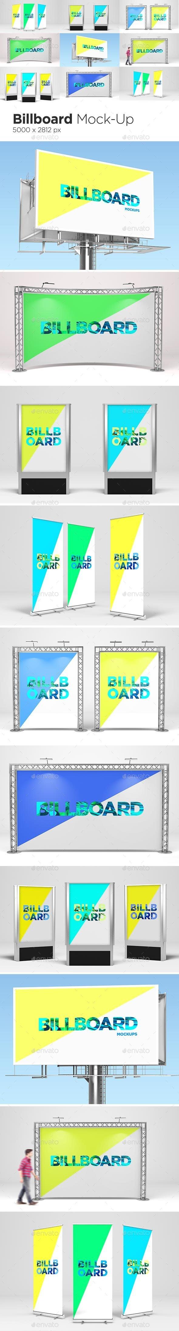 Billboard Mock-Ups - Signage Print