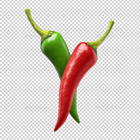 Chilli Peppers Red And Green