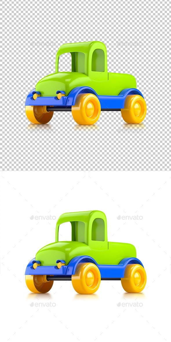 Car Toy Truck - Objects 3D Renders
