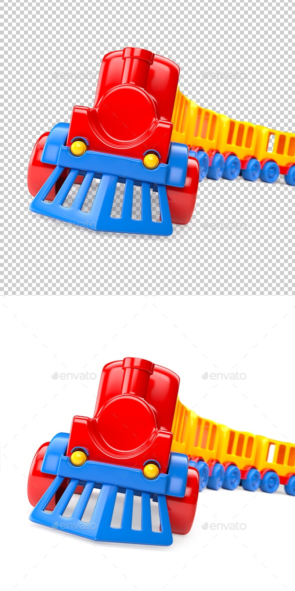 Train - Objects 3D Renders