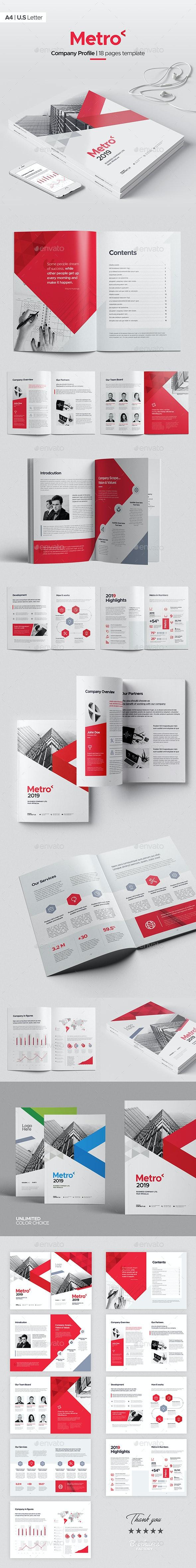 Metro Company Profile 2019 - Corporate Brochures