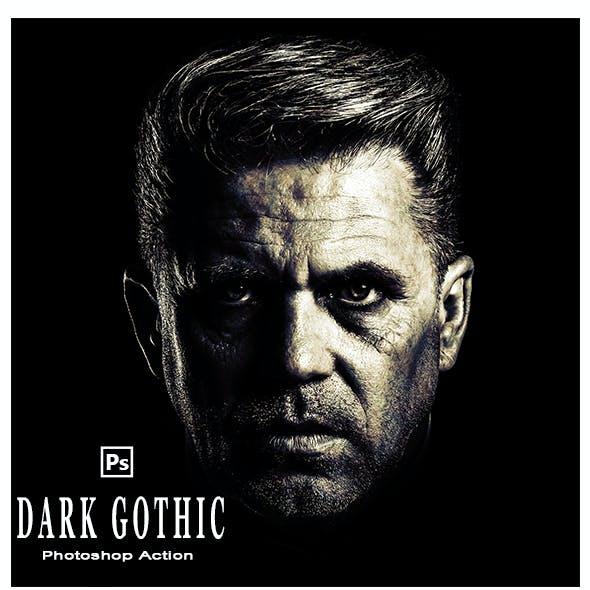 5 Dark Gothic Photoshop Action