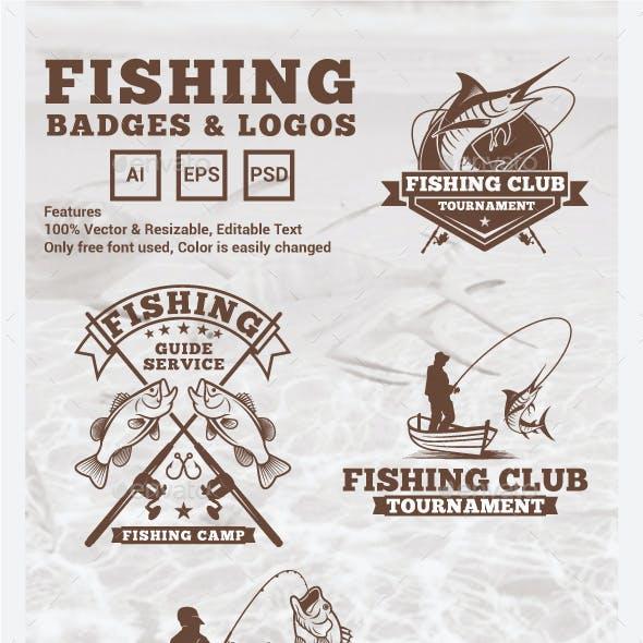 Fishing Logos and Badges
