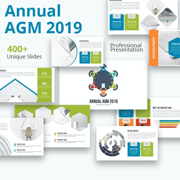 Annual AGM 2019 Keynote Powerpoint Template