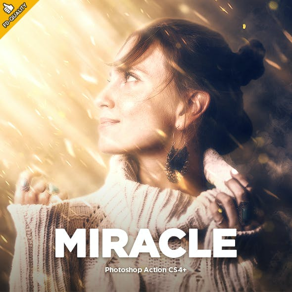 Miracle CS4+ Photoshop Action