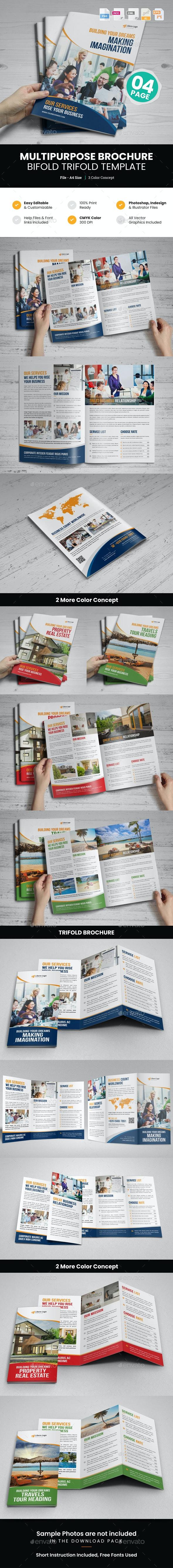 Multipurpose Bifold-Trifold Brochure v1 - Corporate Brochures