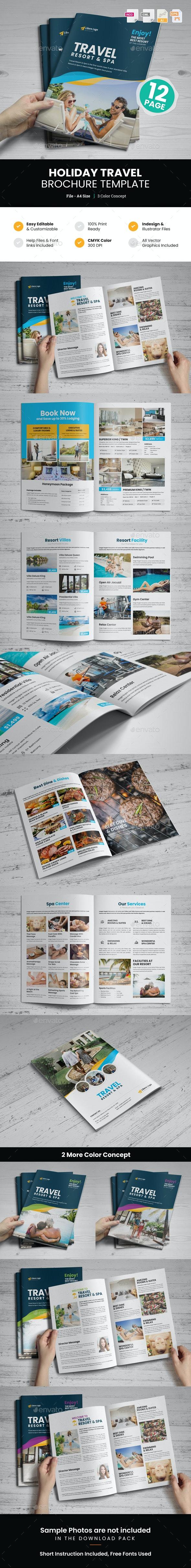 Holiday Travel Brochure Design v6 - Corporate Brochures