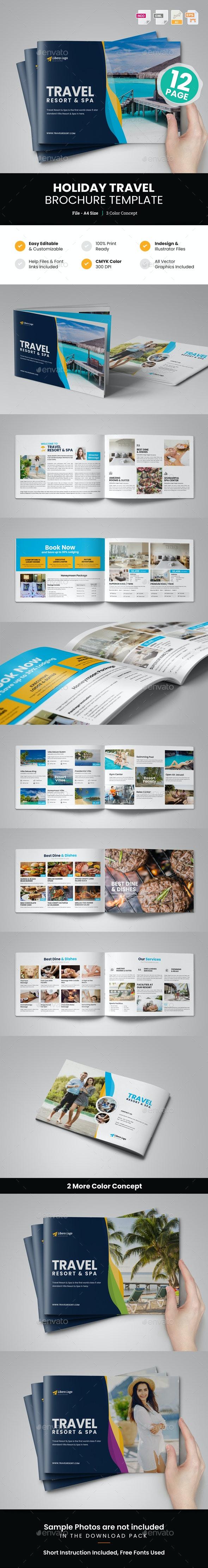 Holiday Travel Brochure Design v7 - Corporate Brochures