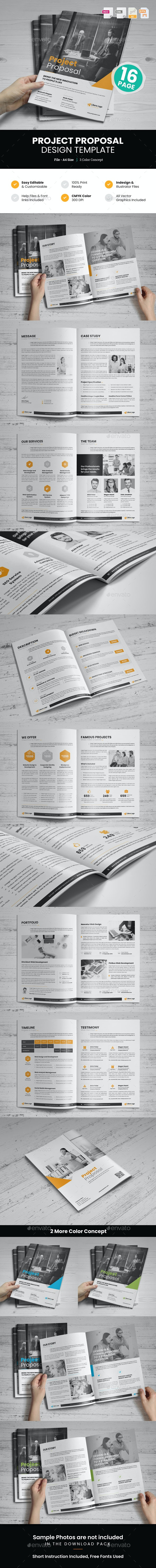 Project Proposal Design v1 - Proposals & Invoices Stationery