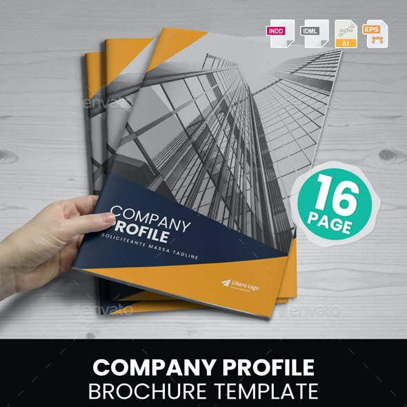 Company Profile Brochure Design v5