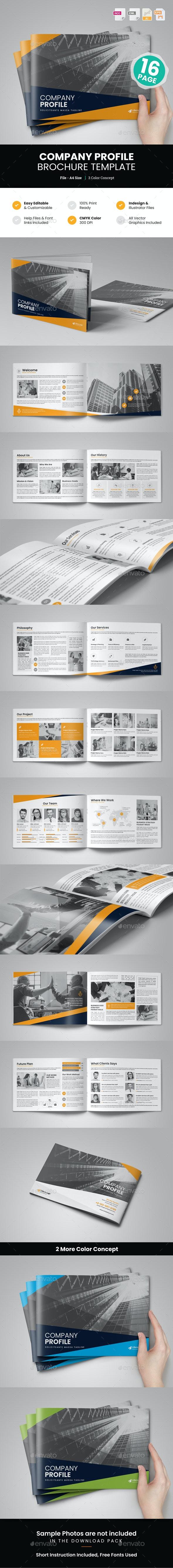 Company Profile Brochure Design v6 - Corporate Brochures