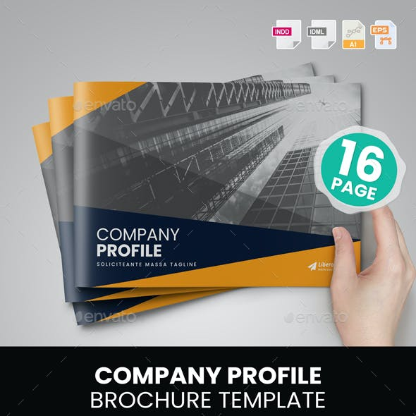 Company Profile Brochure Design v6