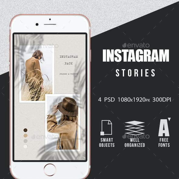 Instagram Story Templates - Shadows
