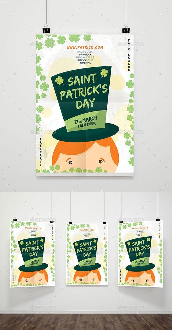 Saint Patrick Flyer - Flyers Print Templates