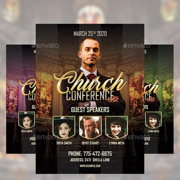 CZE- Church Flyer Template