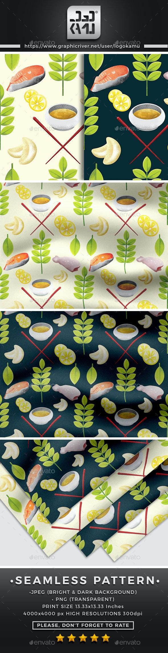 Meat Seamless Pattern - Patterns Backgrounds