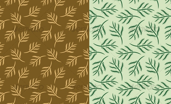 Leaves Seamless Pattern - Patterns Decorative