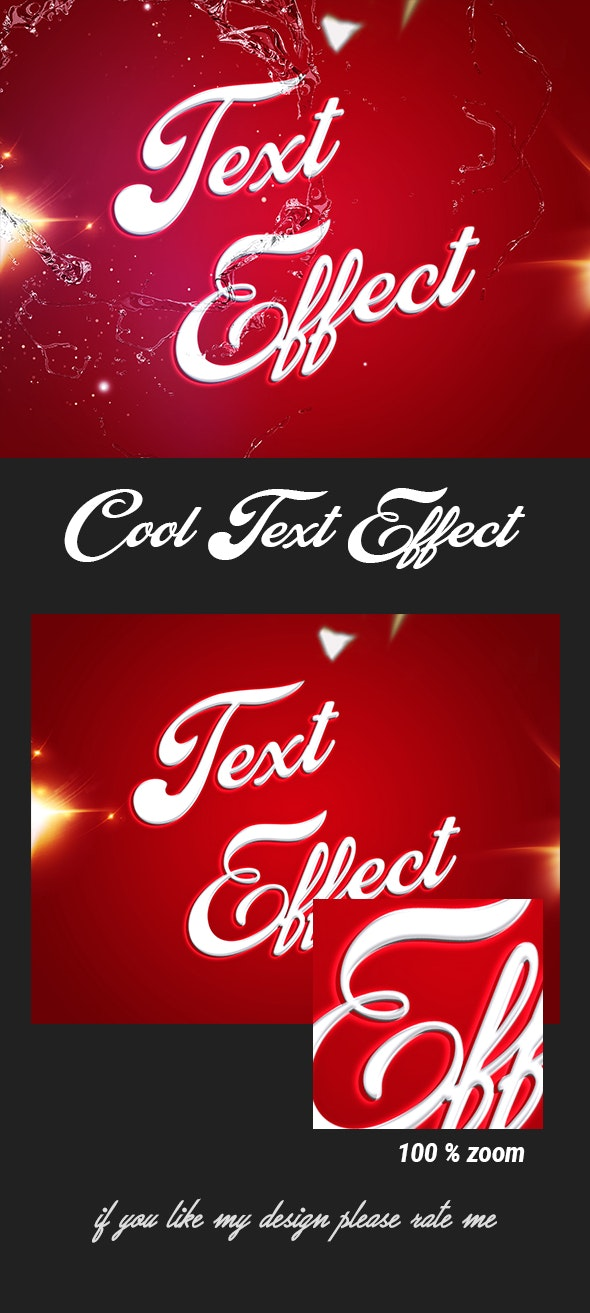 3D Text Effect - Text Effects Actions