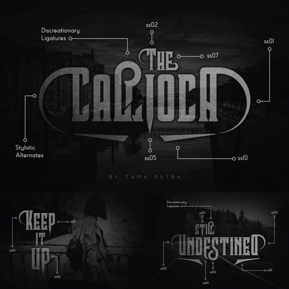 Callioca Decorative Serif Typeface