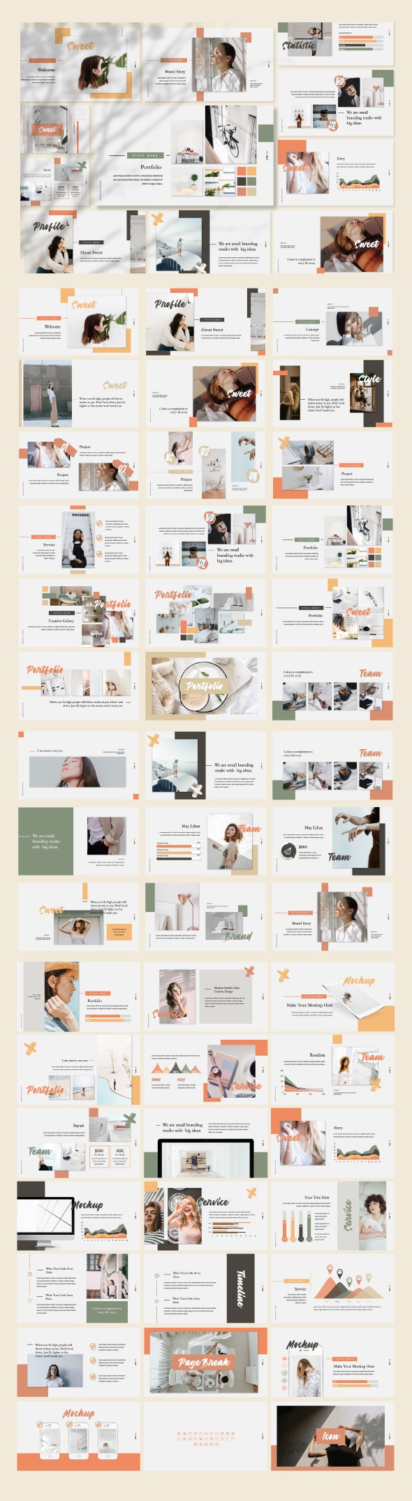 Sweet Powerpoint Template - Creative PowerPoint Templates