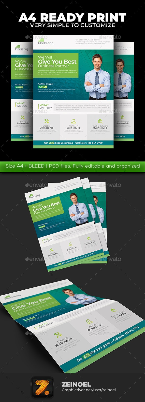 Simple Corporate Flyer - Corporate Flyers