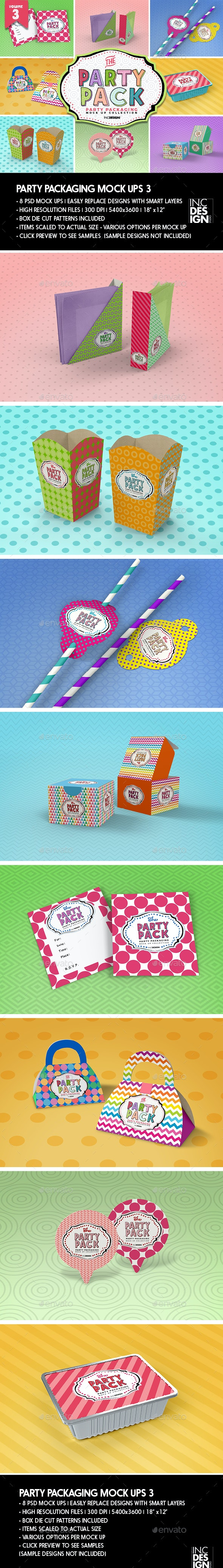 The Party Pack Packaging Mock Ups 3 - Packaging Product Mock-Ups