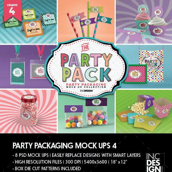 The Party Pack Packaging MockUps 4