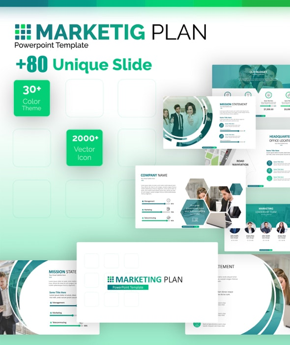 Marketing Plan Powerpoint Template - PowerPoint Templates Presentation Templates