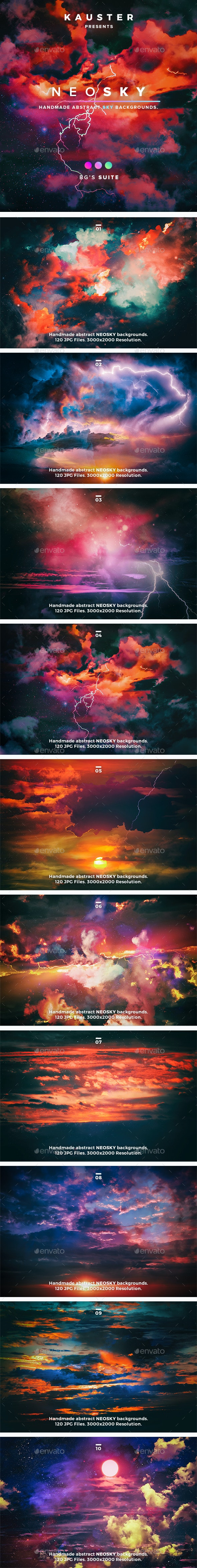 Neosky Backgrounds - Backgrounds Graphics
