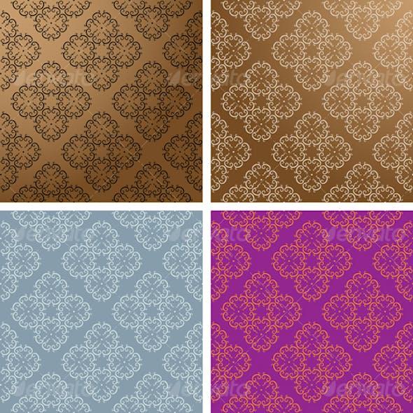 Vintage Wallpaper Seamless Pattern