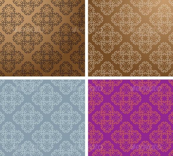 Vintage Wallpaper Seamless Pattern - Patterns Decorative
