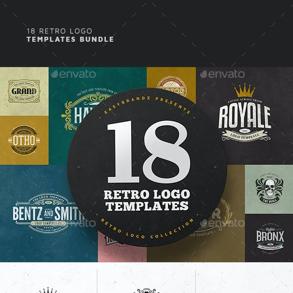 18 Logo Templates Bundle