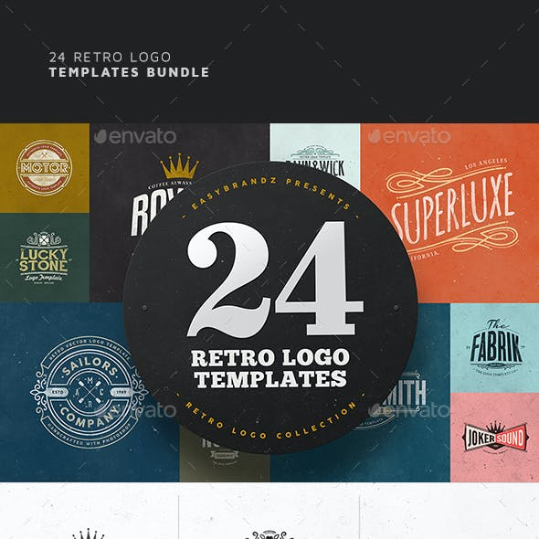 24 Logo Templates Bundle
