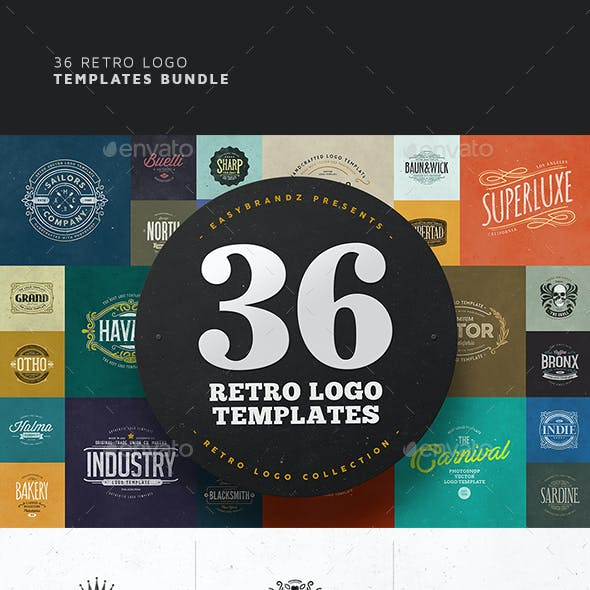 36 Logo Templates Bundle