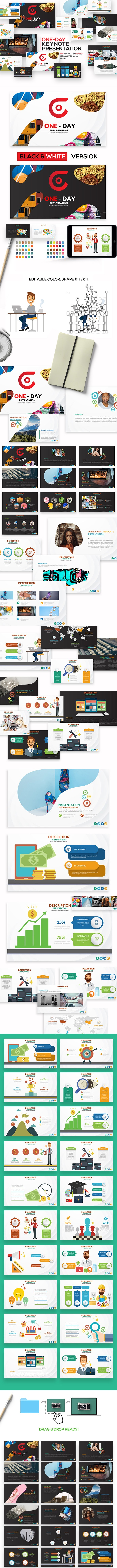 One-Day Keynote Presentation - Keynote Templates Presentation Templates