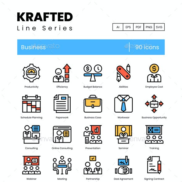 Business Icons - Krafted