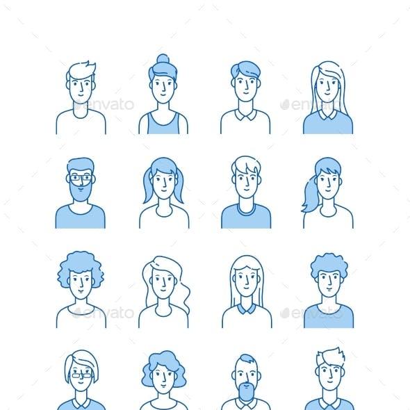 Outline Avatars