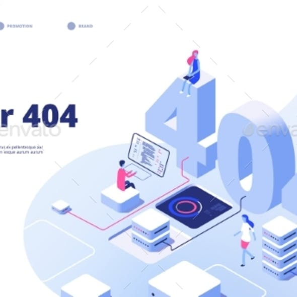 404 Isometric Page Not Working Error Lost