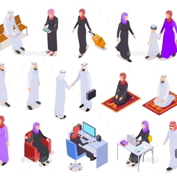 Muslim Isometric Business