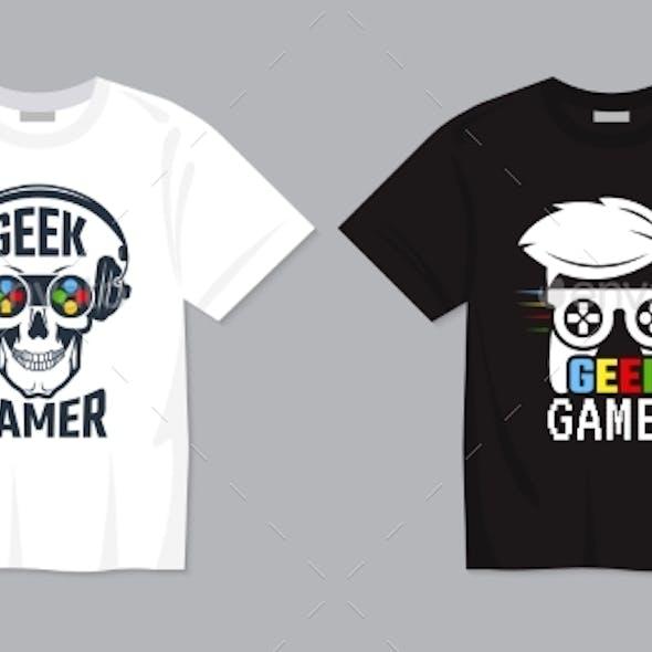 Game T-Shirt Designs