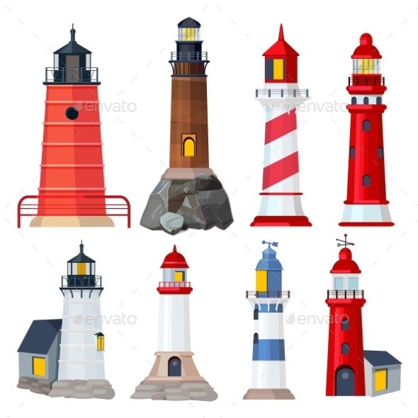Lighthouses Collection - Buildings Objects