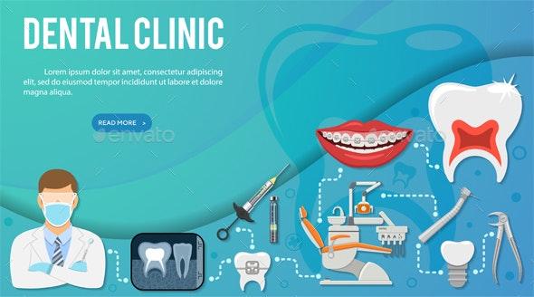 Dental Clinic Infographics - Health/Medicine Conceptual