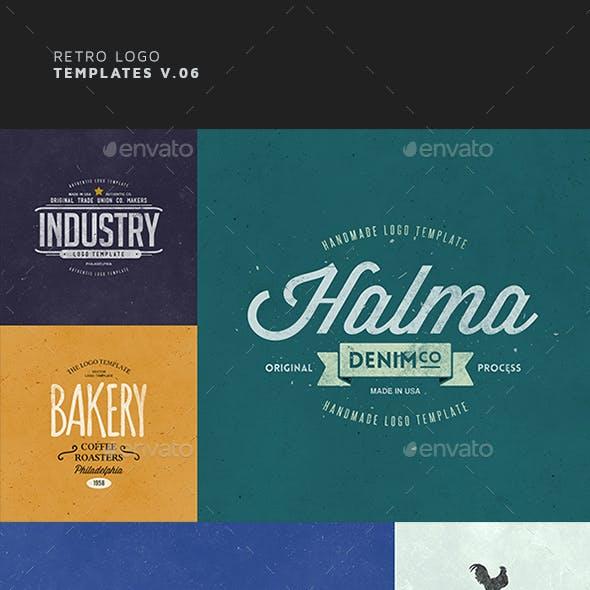 Retro Logo Templates V.06