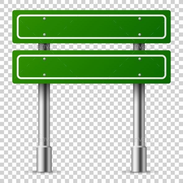 Green Traffic Sign - Miscellaneous Vectors