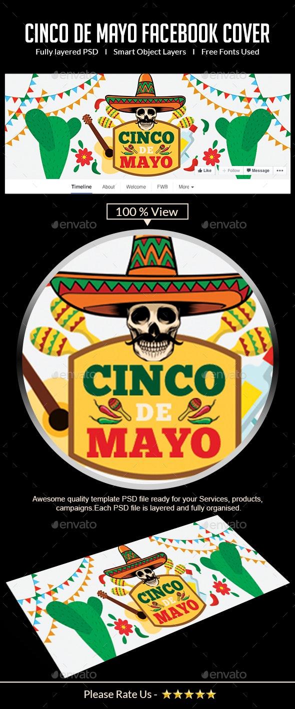 Cinco de Mayo Facebook Cover - Facebook Timeline Covers Social Media